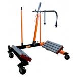 Hidraulinis sunkvežimių ratų vežimėlis 1500kg. min: 1000mm,max:2400mm