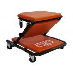 Kombinuotas žemas gulimasis vežimėlis - kėdutė, 1010x490x135mm.,apkrova: 136 kg.,aukštis: 135 mm.,šeši 60 mm skersmens ir 10 mm pločio PP ratai