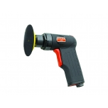 Pneumatic grinder with pistol handle, 77mm Velcro® pad included, 15000rpm 250W