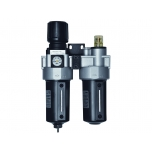 "Air supply filter+regulator+lubrificator 1,0-8,5 bar 1/2"" max 3800 l/min"