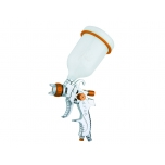 Pneumatic HVLP paint spray gun with 1.0/1.2/1.4/1.7/2.0mm nozzles
