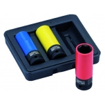 Deep impact socket set 17/19/21mm 1/2""