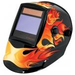 Flame style, electronic welding helmet 17457