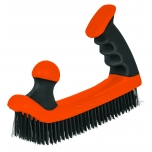 Double handle wire brush grip 12656