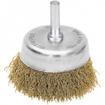 Coarse wire cup brush for drills 0,3mm Ø70mm 11572