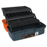 Tackle box 410x220x210mm grey Truper 10552