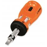Ratchet mini screwdriver with 12 bits 18193