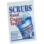 Sudrėkintas valomasis rankšluostis (1vnt) Scrubs