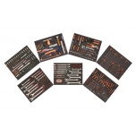 MRO tools set in 2 coloured foams 256 pcs for 6 drawers