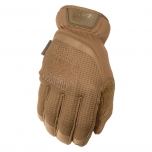 Pirštinės Mechanix FastFit® Coyote, 8/S dydis. Rauktas rankogalis, 0.6 mm dirbtinė oda, TrekDry®, touchscreen technologija