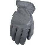 Pirštinės MECHANIX FAST FIT Wolf Grey, pilkos 9/M dydis. Rauktas rankogalis, dirbtinė oda, TrekDry®