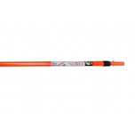 Fiberglass telescopic extension pole 1,8-3,2m