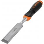Wood chisel 22,2mm, comfort grip handle, CrV 14630