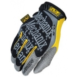Gloves ORIGINAL 0.5 black/yellow 10/L