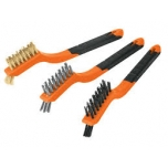 Wire brush set 3pcs 10652