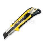 Extra heavy duty cutter with comfort-grip handle 25 mm and automatic blade lock