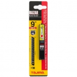 RAZAR BLACK 9mm blades, dispenser with card
