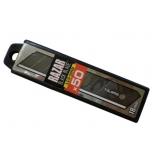 RAZAR BLACK 18mm blades, dispenser with card, 50pcs