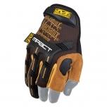 Pirštinės Mechanix M-Pact® Framer Leather 9/M dydis. Velcro, TrekDry®, natūrali oda, delno, krumplių, Armortex®, pirštų apsauga, C30® apsauga nuo vibracijos