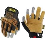 Pirštinės MECHANIX M-Pact Framer Leather 12/XXLL dydis. Velcro, TrekDry®, natūrali oda, delno, krumplių, Armortex®, pirštų apsauga, C30® apsauga nuo vibracijos