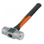 Octagonal sledge hammer 1800g with fiberglass handle 36cm 16536