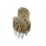 Bepirštės Pirštinės Mechanix M-Pact® FINGERLESS Coyote 10/L dydis. Velcro, TrekDry®, dirbtinė oda, delno, krumplių, pirštų apsauga
