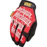 Pirštinės Mechanix The Original® raudonos 11/XL dydis. Velcro, dirbtinė oda, Treck Dry