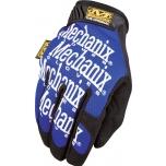 Pirštinės Mechanix The Original® mėlynos 10/L dydis. Velcro, dirbtinė oda, Treck Dry