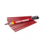 Universaalne marker Markal Trades-Marker Starter Pack, punane (hoidja+12 tera)