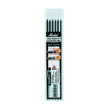 Refills for Trades-Marker® Dry. Pack of 6.(Graphite)