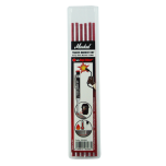Varuterad Trades-Marker® Dry markeerimispliiatsile. Keevitajale punane Red Riter, 6tk