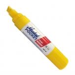 Liquid paint marker Markal Pocket marker, Yellow, chisel tip, marking size 10mm