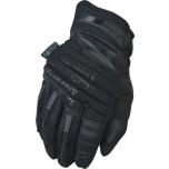 Pirštinės MECHANIX M-PACT 2 COVERT juodos 11/XL dydis. Velcro, TrekDry®, dirbtinė oda, delno, krumplių, pirštų apsauga, D30® apsauga nuo vibracijos