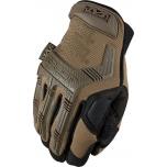 Pirštinės MECHANIX M-PACT Coyote 10/L dydis. Velcro, TrekDry®, dirbtinė oda, delno, krumplių, Armortex®, pirštų apsauga, XRD® apsauga nuo vibracijos