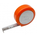 Measuring tape 3m x 13mm, water/rustproof, Touch To Lock Tape. Magnetic back