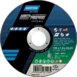 Cutting disc Norton Multi Purpose C46T-125x1.6x22.23-T41