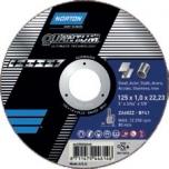 Cutting disc Norton Quantum ZA60ZZ-125x0.8x22.2-T42