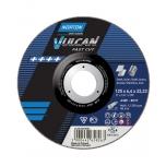 Abrazyvinis metalo/nerūdijančio plieno šlifavimo diskas Norton VULCAN A40S-125X6.4X22.2-T27 -VULCAN