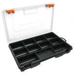 Organizer box with 11 compartments 230x150x38mm Truper 10035
