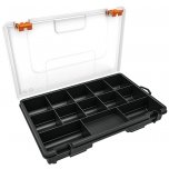 Organizer box with 13 compartments 250x170x41mm Truper 10036