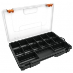 Organizer box with 15 compartments 280x180x44mm Truper 19896