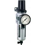 """Air filter + regulator 0,5-10bar 1/2"""" max 3200 l/min Irimo"""