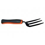 Weeding fork, bimat. handle