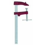 Clamp M 25cm, jaw depth 7cm, sliding T-handle, max 4000N