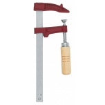 Clamp MM 30cm, jaw depth 7cm, max 4000N, wooden handle