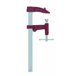 Clamp Z 25cm, jaw depth 7cm, with covered thread and sliding T-handle, max 4000N