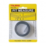 Adhesive measuring tape 3m x 16mm, scale from right to left