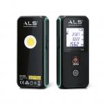 Work light 250lm LED + laser range finder, rechargeable, IP20