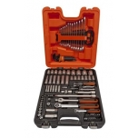 "Socket and spanners set 1/4"" and 1/2"" 103 pcs"