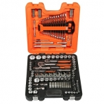 "Socket and spanners set 1/2"", 1/4"" and 3/8 138 pcs"